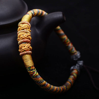 Chinese Friendship & Luck Knots Bracelet
