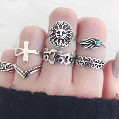 Midnight Dream Ring Sets (Multi-pcs/set)