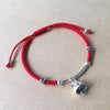 Lucky Meow Red Rope Bracelet