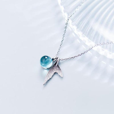 A Mermaid's Tear Necklace