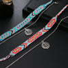 A Coral's Song Anklet Set 2pcs