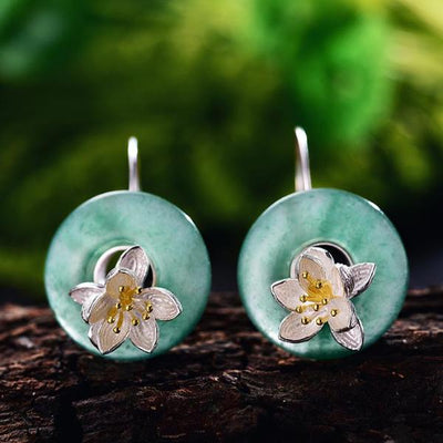 Lotus Aroma Earrings