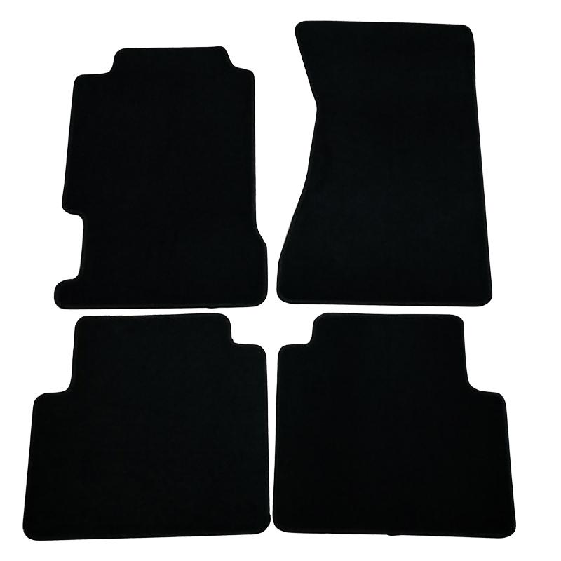 Fits 98 Acura TL Black Nylon Front Rear 4PC Floor Mats