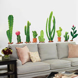 Cacti Plant Wall Stickers