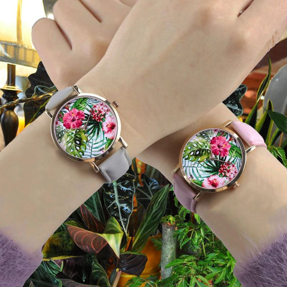 Houseplant Style Ladies Watch