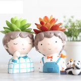 Succulent Brother Dad Man Men Planters Plant Pots