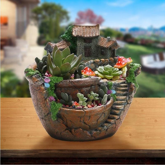 Fairy Garden Starter Planter Pot