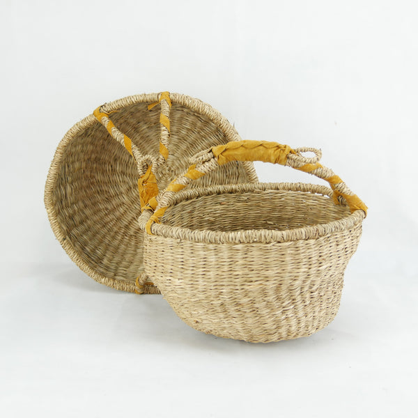 Medium & Small Round Basket Set of 2