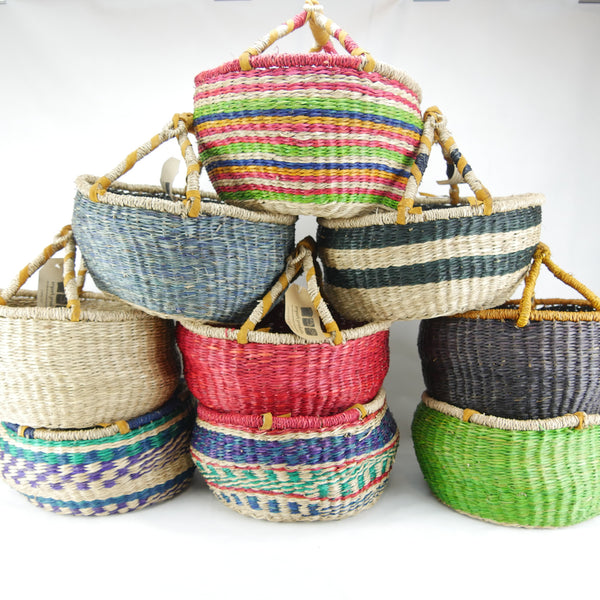 Medium Seagrass Round Baskets