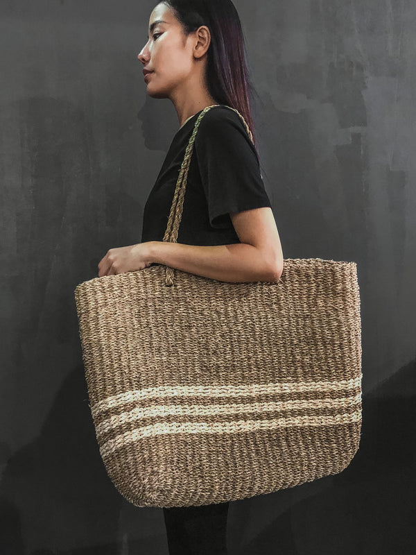 """Grace"" X- Large Size Seagrass  Bag"
