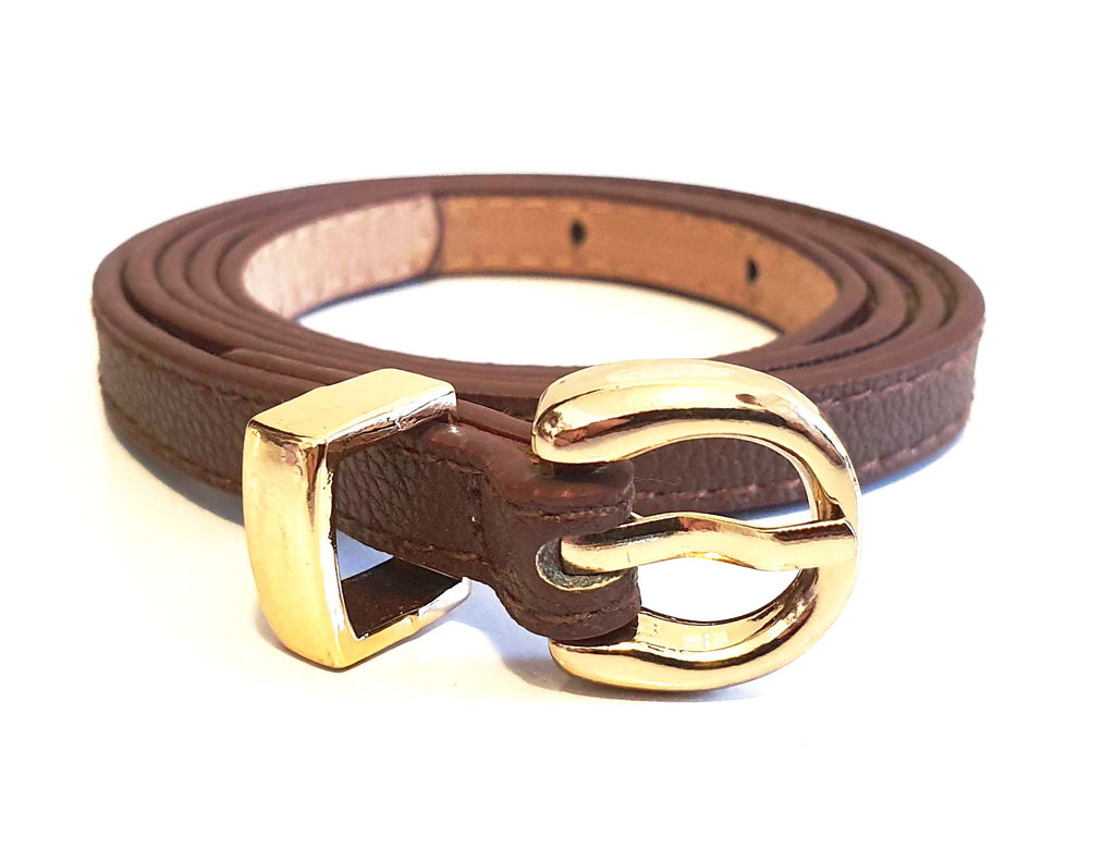 Thin Belt Dark Brown