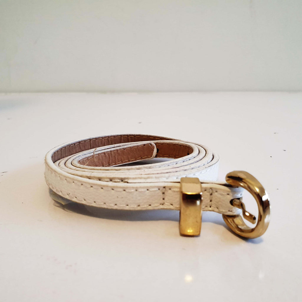 Thin Belt White