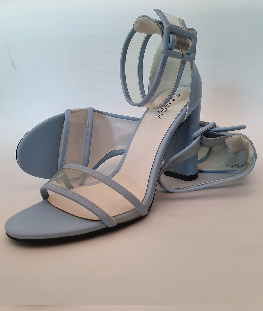 Percy PVC Sandals Blue Size 38 & 41