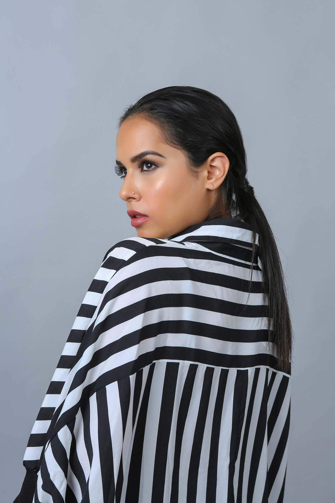 Alara Striped Blouse