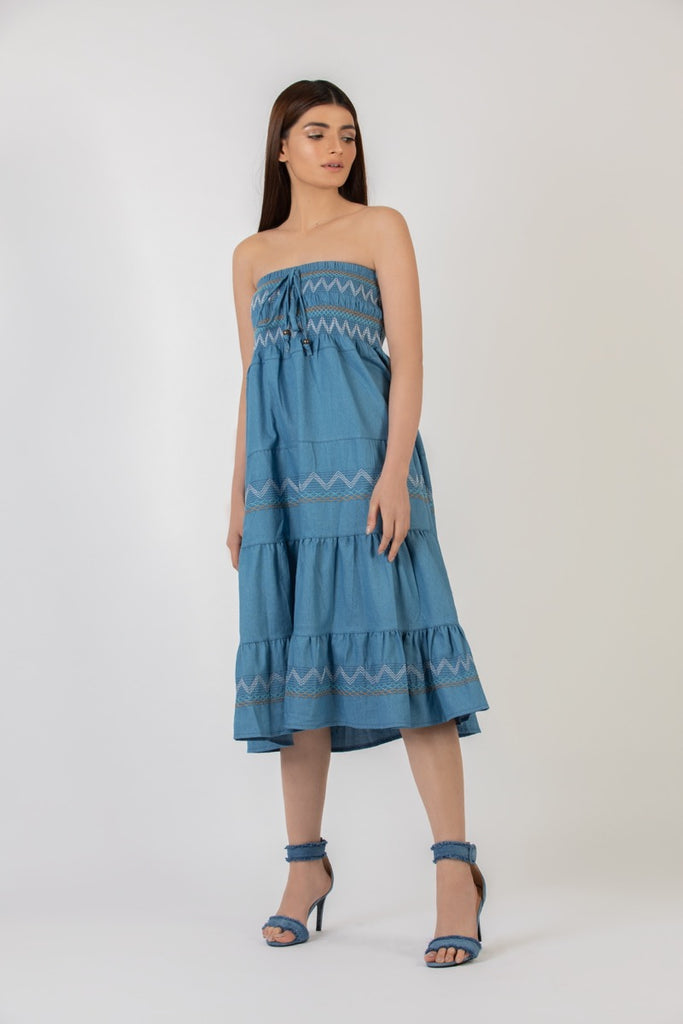 Lambada Denim Dress