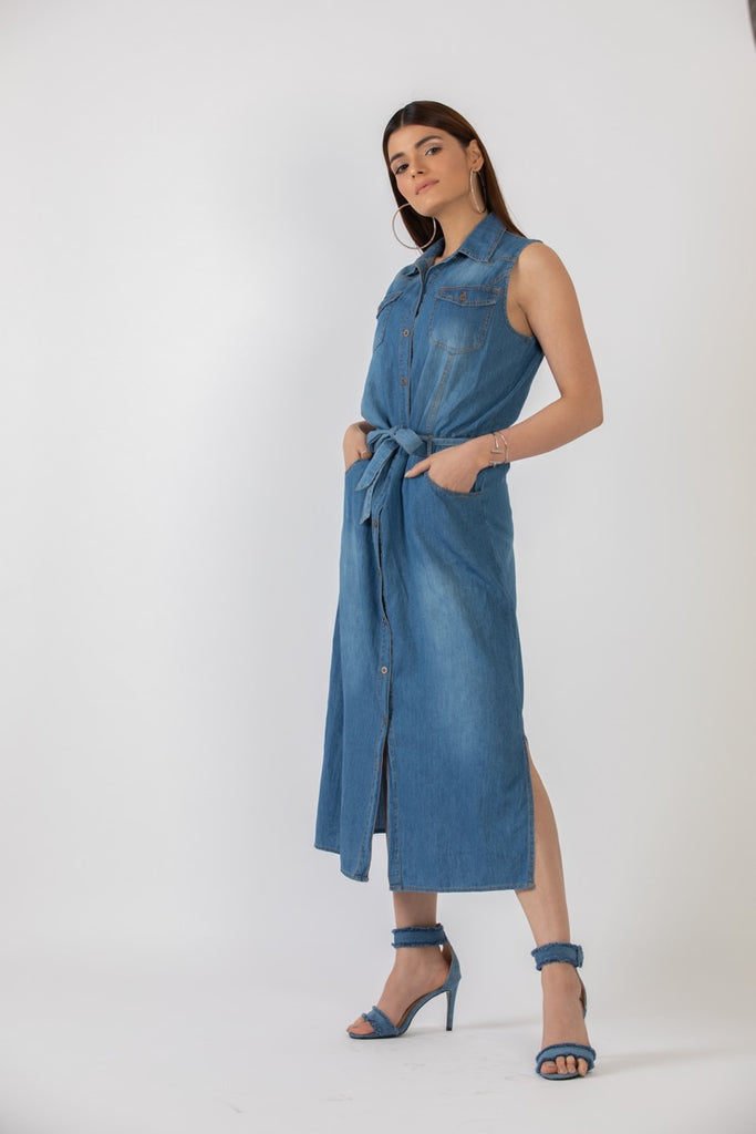 Simone Denim Dress