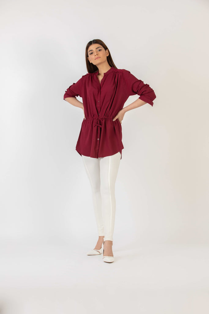 Scarlet Fever Button Down