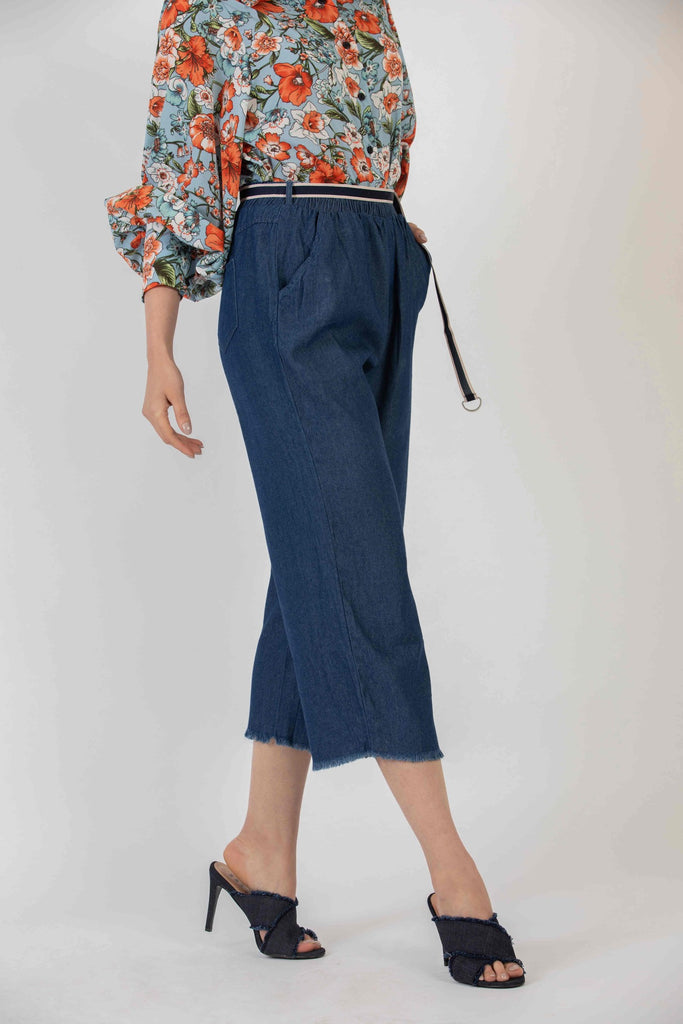 Lazy Lizzie Culotte Dark Blue