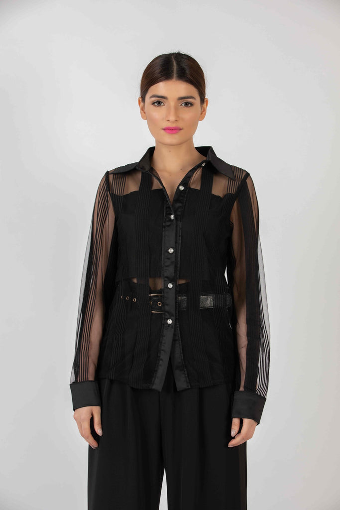 Valentina Sheer Blouse