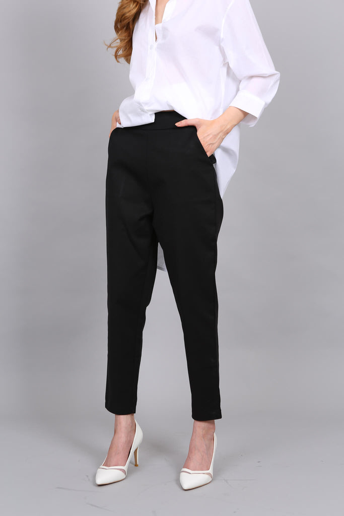 Cigarette Pants Navy (XS  Only)
