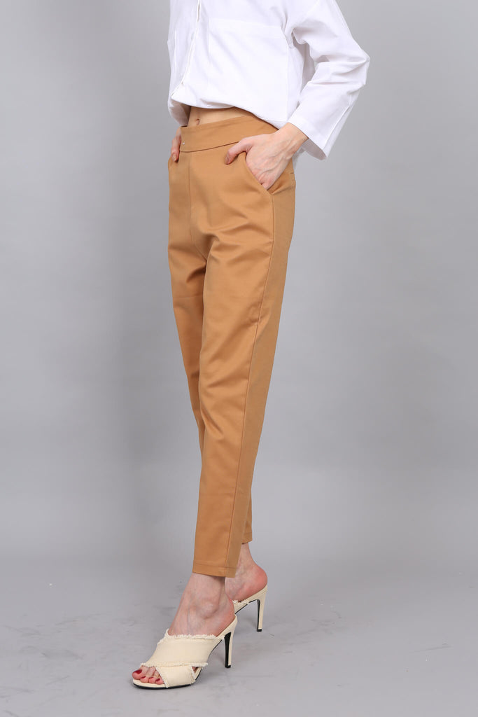 Cigarette Pants Mustard  Small Only