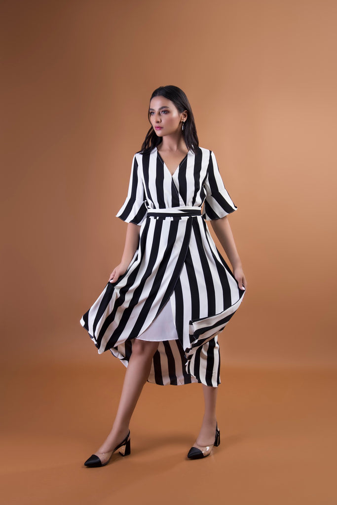 Stechetto Wrap Dress