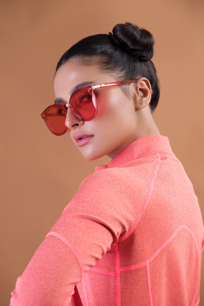 Candy Red Classic Sunnies
