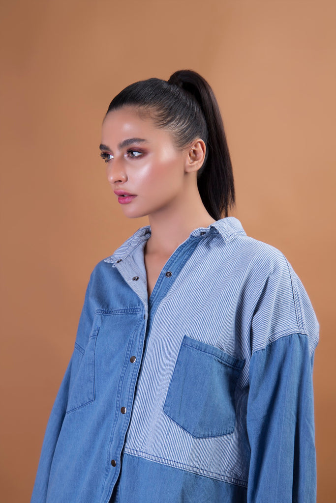 Dandy Denim Top