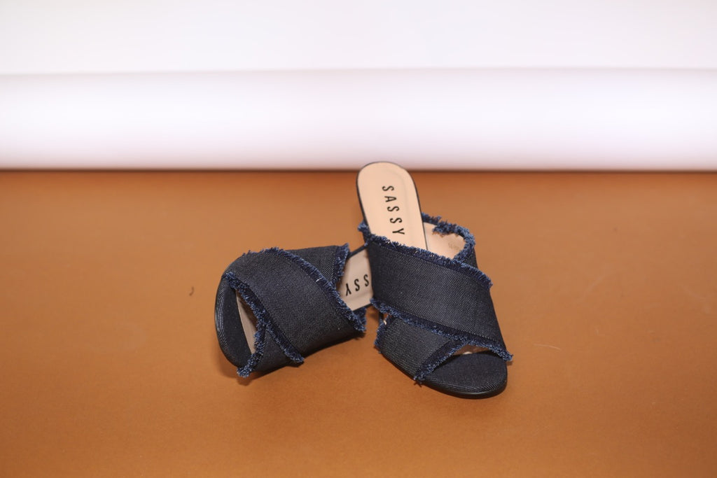 Soho CrossOver Slides  Navy