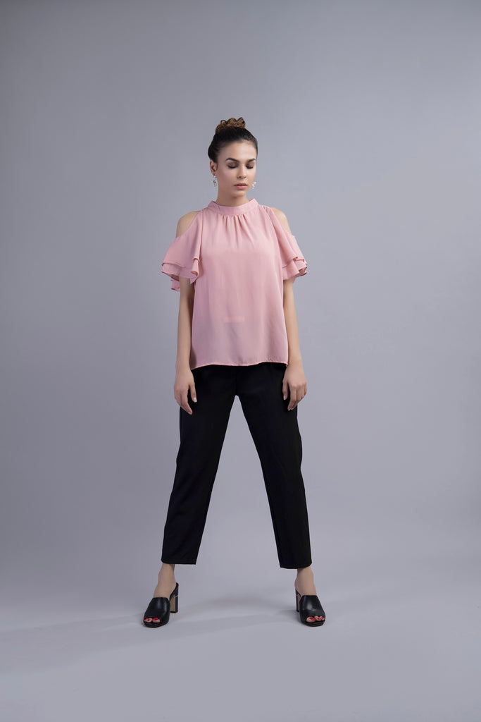 Clarissa Cold Shoulder Blouse