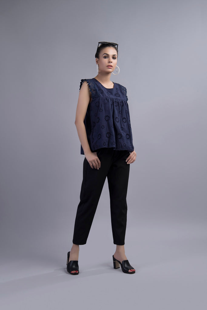 Dandelion Dream Blouse Blue