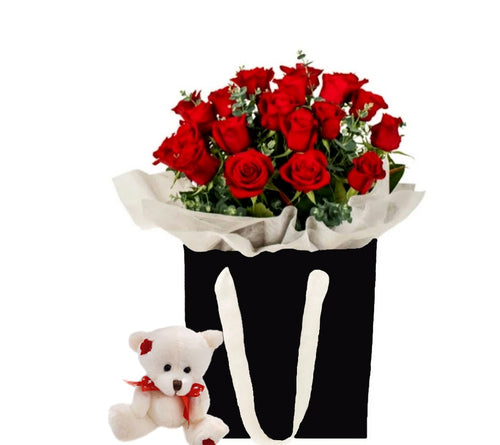 (AV13) Box of Red Roses