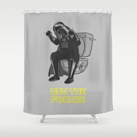 Use The Force Shower Curtain