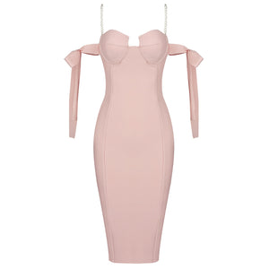ADINA  Pearls Bandage Dress