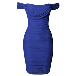 CINDY STRAPPY SLEEVELESS TIE MINI BODYCON DRESS