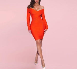 DENISE Nude Strap Sleeveless Mini Beading Bodycon Dress