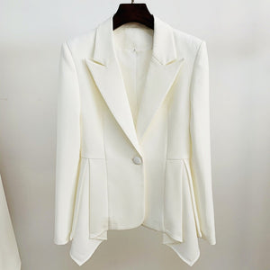 ELMIRA V NECK LONG SLEEVE SLIT MIDI BANDAGE DRESS