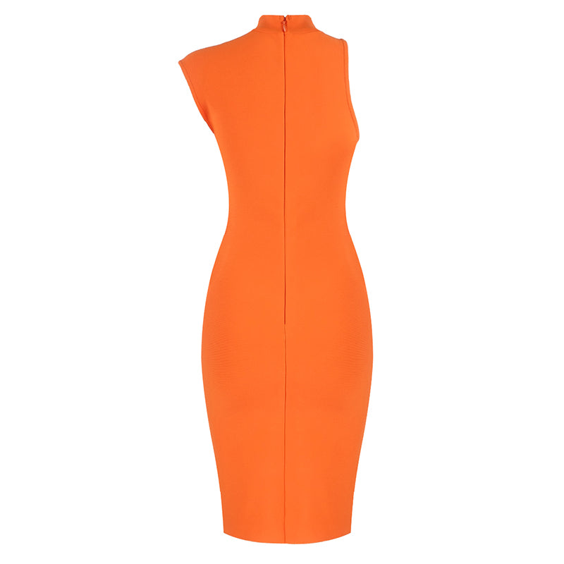 ESTER Asymmetrical Bandage Dress