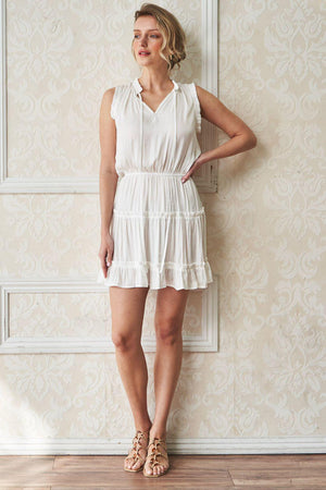 OSAKA Classic Over the knee Beach Dress