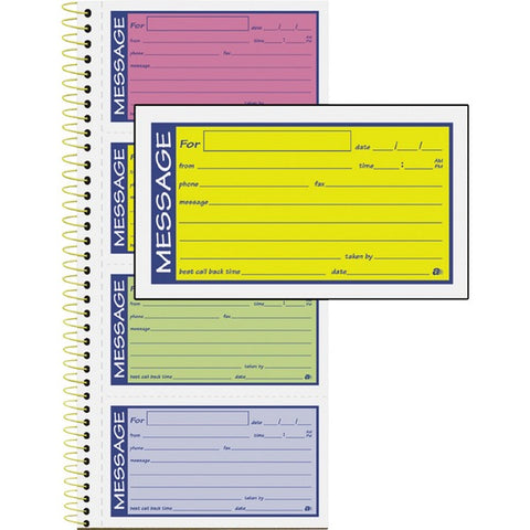 TOPS Products Adams 2-Part Carbonless Phone Message Books