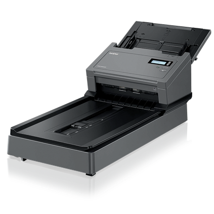 "Brother Workhorse PDS-5000F Color Flatbed Scanner (60 ppm) (8-bit Grayscale) (48-bit Color) (8.5"" x 236"") (600 dpi) (Duplex) (USB) (Energy Star) (100 Sheet ADF)"