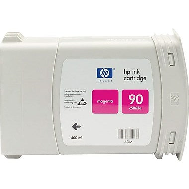 HP 90 (C5063A) Magenta Original Ink Cartridge (400 ml)