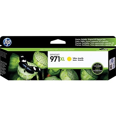 HP 971XL (CN628AM) High Yield Yellow Original Ink Cartridge (6600 Yield)