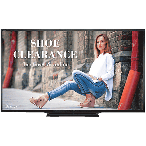 Sharp Electronics PN-LE801 - LCD Display - 80 Inch - 1920 x 1080 - 350 cd/m2 - 5,0