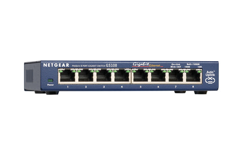 Netgear  PROSAFE 8-PORT GIGABIT DESKTOP SWITCH
