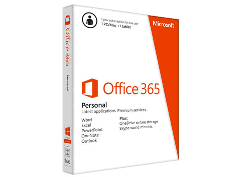 Microsoft Corporation  Office 365 Personal 1 Year Subscription