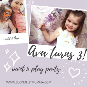 Ava turns three