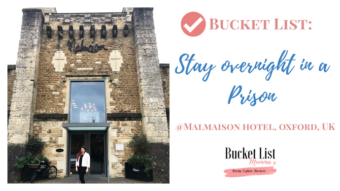 ✅Bucket List: Stay overnight in a Prison