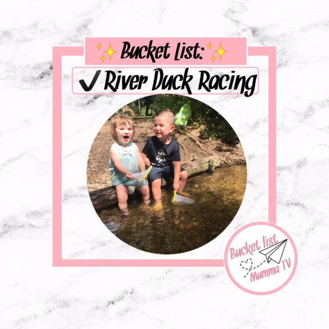 ✅Bucket List: River Duck Racing