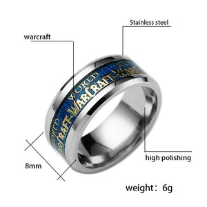 World of Warcraft World Stainless Steel Ring
